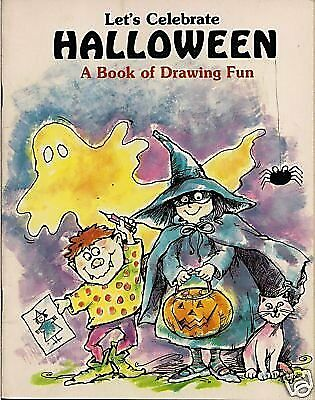 Drawing A Halloween (Lets Celebrate Halloween: A Book of Drawing)