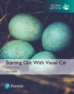 Starting Out with Visual C# by Tony Gaddis (Mixed media product, 2017)