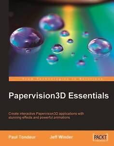 Papervision3D Essentials by Paul Tondeur, Jeff Winder (Paperback, 2009)