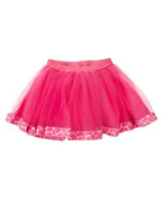 Gymboree tutu skirt size 4T new