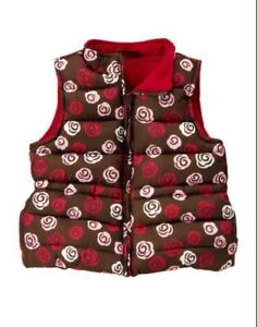 New with Tags Gymboree Sweet Treats puffer vest size m (7-8)