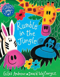 The-Rumble-in-the-Jungle-by-Giles-Andreae-Mixed-media-product-2007