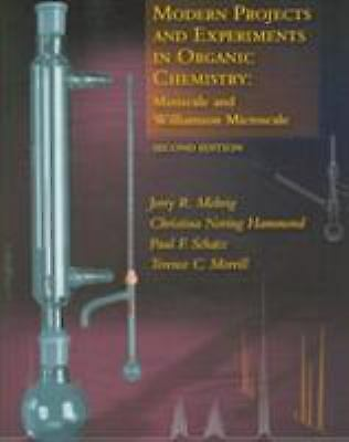 Modern Projects and Experiments in Organic Chemistry : Miniscale