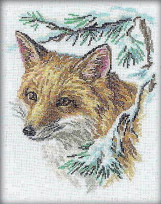 Counted Cross Stitch Kit Rto   Fox