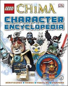 DK-Lego-Minifigure-Chima-Character-Encyclopedia-2014-New-w-Exclusive-Firox-Mini