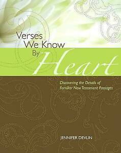 Verses We Know by Heart New Testament Edition by Devlin, Jennifer -Paperback