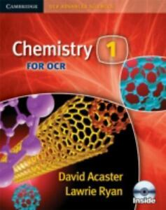 Chemistry 1 for OCR with CDROM Cambridge OCR Advanced Sciences Ryan Lawrie - <span itemprop=availableAtOrFrom>Gillingham, United Kingdom</span> - Chemistry 1 for OCR with CDROM Cambridge OCR Advanced Sciences Ryan Lawrie - Gillingham, United Kingdom