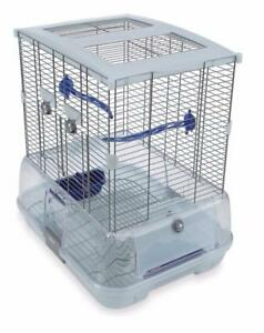 New, Hagen Single Vision Bird Cage (open box) *missing skid feet; crack shown in pictures*