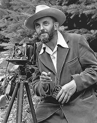 Ansel Adams ist bekannt für seine Schwarz-Weiß-Aufnahmen
