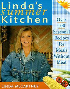 """AS NEW"" Linda's Summer Kitchen, McCartney, Linda, Book"