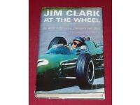 Jim Clark At The Wheel- the world motor racing champion's own story. Hardback 2nd Impression 1964
