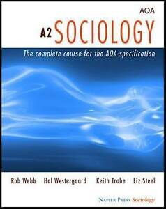 a2 sociology coursework Sociology consists of a single-unit short course and a two-unit full course students are to develop their ability to complete the appropriate content and sit written.