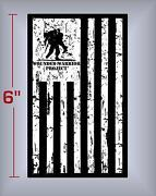 Wounded Warrior Decal