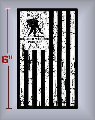 Wounded Warrior Decal Ebay
