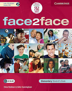 Cunningham, Gillie, Redston, Chris, face2face Elementary Student's Book with CD