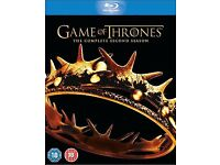 Game of Thrones the complete second season Blu-ray 5 discs box set NEW and sealed