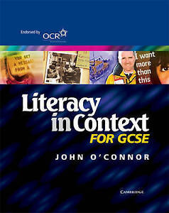 Literacy in Context for GCSE Student's Book, John O'Connor | Paperback Book | Go