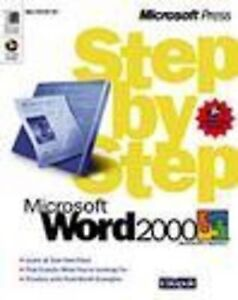 Microsoft Word 2000 Step by Step by Catapult Inc. (Mixed media product, 1999)