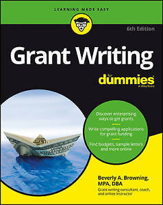 Grant Writing for Dummies by Browning, Beverly A. -Paperback