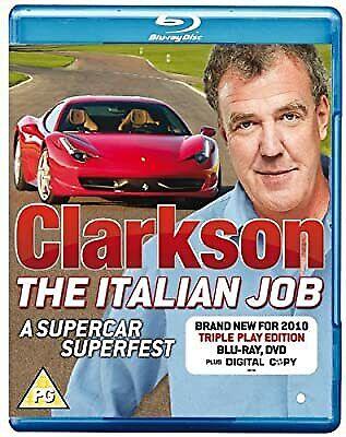Clarkson: The Italian Job [Blu-ray] [Region Free], , Used; Very Good Blu-ray
