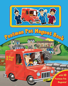Postman Pat Magnet Book,  | Hardcover Book | Good | 9781405227087