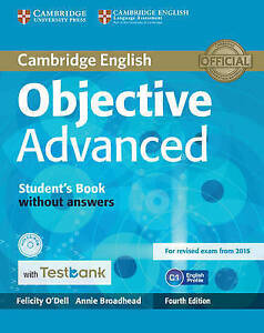 Objective Advanced Student's Book without Answers with CD-ROM with Testbank by B