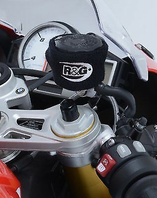 UNIVERSAL CLUTCH  BRAKE RESERVOIR PROTECTOR BOOTY IN BLACK FROM RG R