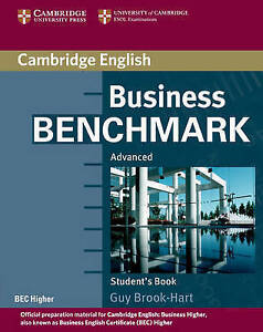 Cambridge BUSINESS BENCHMARK Advanced STUDENT'S BOOK BEC Higher C1 @New@