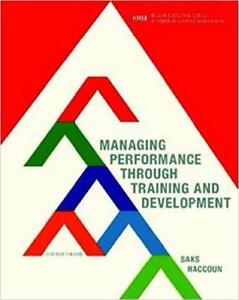 Managing Performance through Training and Development 7th Edition
