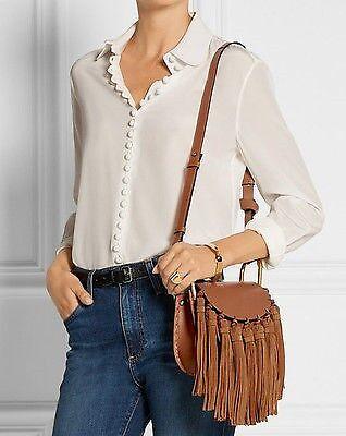Chloe Hudson Mini Fringe Shoulder Bag