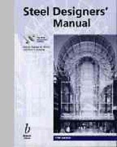 Steel-Designers-Manual-Steel-Construction-Institute-0632024887-Good