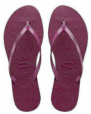 Havaianas Women's You Metallic Flip Flop Acai Sandals 7-8 US/37-38 BR