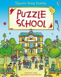 Puzzle School (Usborne Young Puzzles), Susannah Leigh - Hardcover Book NEW 97814