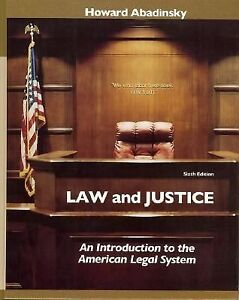 an introduction to justice in the united states The federal court system an introduction for judges and judicial administrators in other countries by the chief justice of the united states and.