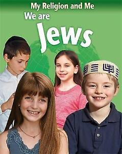 We Are Jews (My Religion & Me)-ExLibrary
