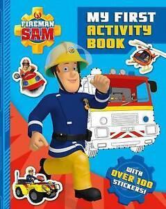 Fireman Sam: My First Activity Book  BOOK NEW