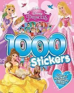 ~~ Disney Princess 1000 Stickers ~~ Childrens activity book ~~~
