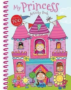 My Princess Activity Book: Activity Books with Windows by Make Believe Ideas | S