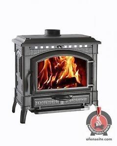 kaminofen wasserf hrend fen ebay. Black Bedroom Furniture Sets. Home Design Ideas
