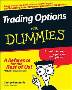 NEW Trading Options For Dummies by George A. Fontanills