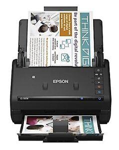 Epson Workforce 500w Wireless Color Duplex Document Scanner PC Mac  Compactable