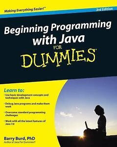 Beginning-Programming-with-Java-for-Dummies-by-Barry-Burd-2012-Paperback