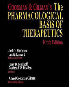 Goodman-and-Gilman-039-s-The-Pharmacological-Basis-of-Therapeutics-9th-ExLibrary