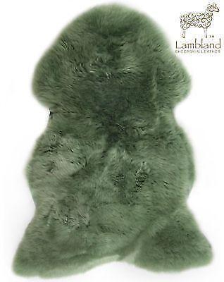 Green Sheepskin Rug Ebay