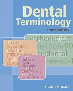 charline m dofka dental terminology paperback