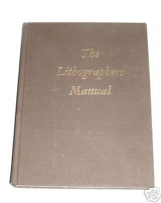 the lithographers manual how too-/techniques/historySEE