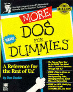 More DOS For Dummies, Good Condition Book, DAN, ISBN 9781568840468