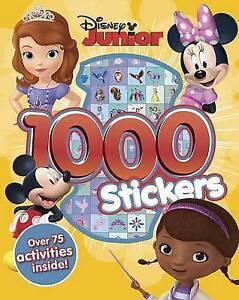 Disney Junior 1000 Stickers, Disney, New Book