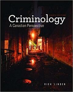 Criminology A Canadian Perspective