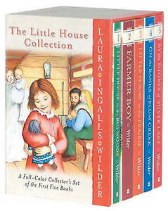 Laura Ingalls Wilder Little House Collection paperback box set